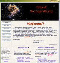 Alexis's homepage